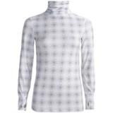 Terramar Thermolator Base Layer Shirred Turtleneck - UPF 25+ (For Women)