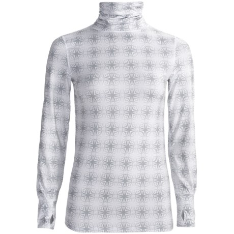 Terramar Thermolator Base Layer Shirred Turtleneck - UPF 25+ (For Women)