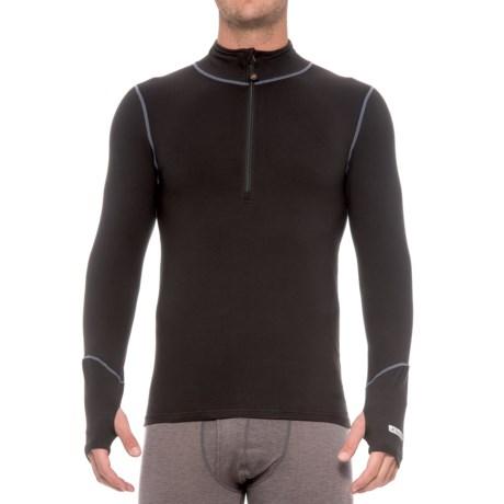 Terramar Thermolator Base Layer Top - Zip Neck, Midweight, Long Sleeve (For Men)