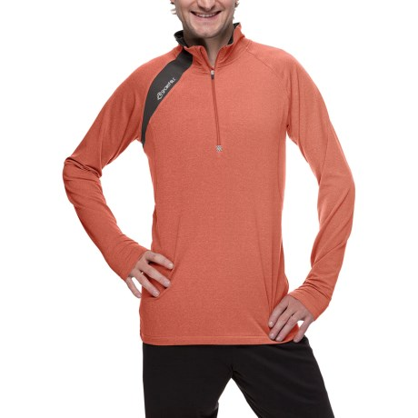 SportHill Crescent Pullover - Zip Neck, Long Sleeve (For Men)