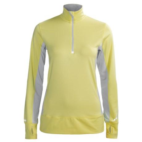 SportHill Nomad II Pullover - Zip Neck (For Women)