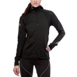 SportHill Arctic Hooded Pullover - Zip Neck (For Women)