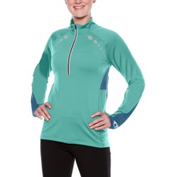 SportHill Ultimate Visibility Pullover - Zip Neck (For Women)