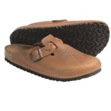 Birkenstock Boston Clogs - Leather, Braided Strap (For Men and Women)