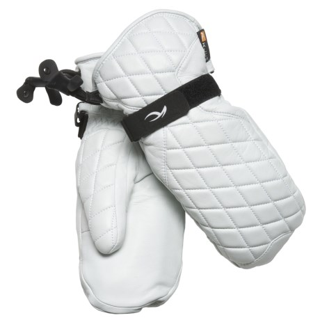 KJUS K Leather PrimaLoft® Mittens - Waterproof, Insulated (For Women)