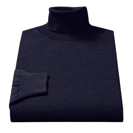 Toscano Merino Wool Turtleneck (For Men)
