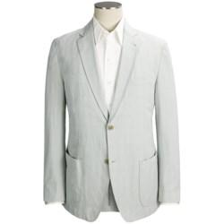 Kroon Stretch Cotton Sport Coat - Subtle Plaid (For Men)