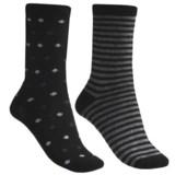b.ella Dot and Stripe Socks - 2-Pack (For Women)