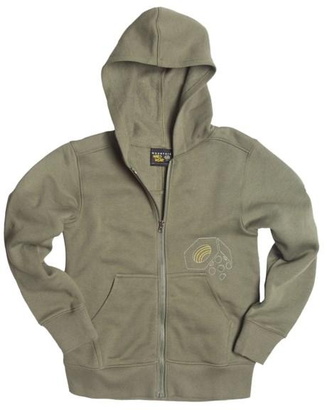 Mountain Hardwear Logo Hoodie Sweatshirt (For Boys)