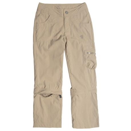 Mountain Hardwear Desria Convertible Pants - UPF 30 (For Girls)