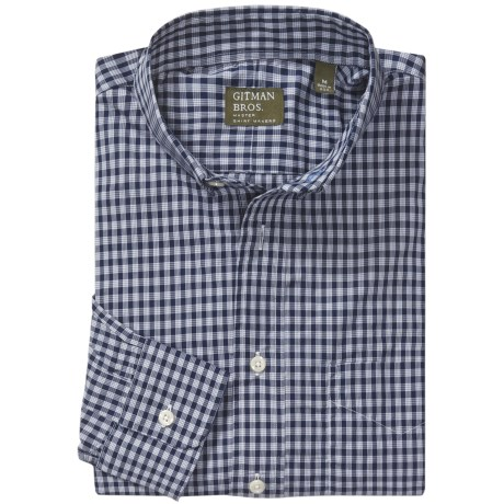 Gitman Brothers Sport Shirt - Long Sleeve (For Men)