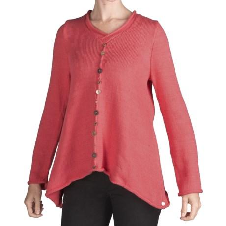 Pure Handknit Sweet Baby Jane Sweater (For Women)