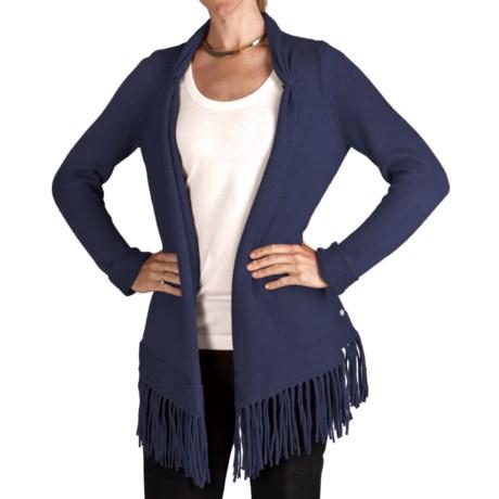 Pure Handknit California Dreamin Cardigan Sweater (For Women)