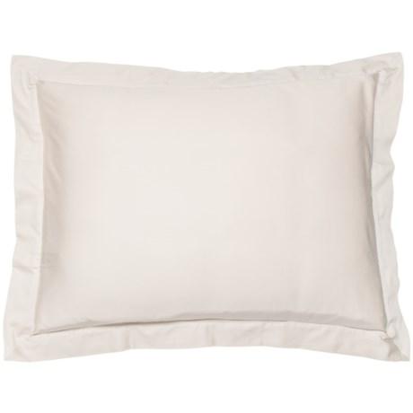 Coyuchi Natural Organic Sateen Pillow Sham - Standard, 300 TC