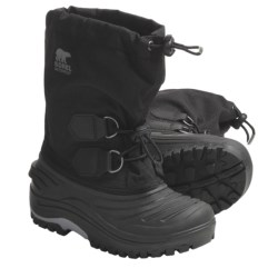Sorel Super Trooper Waterproof Boots (For Kids)
