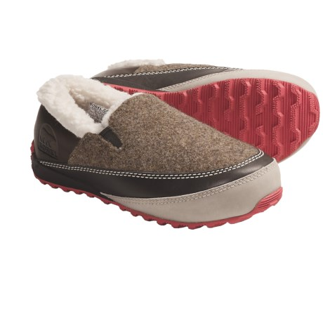 Sorel Mackenzie Shoes - Slip-Ons, Wool (For Women)