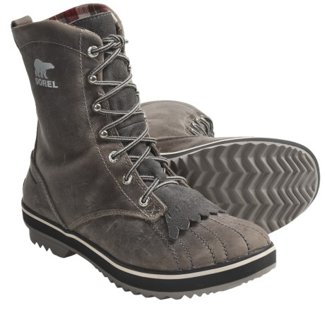 Sorel Tivoli Camp 18 Boots - Microfleece Lining (For Women)