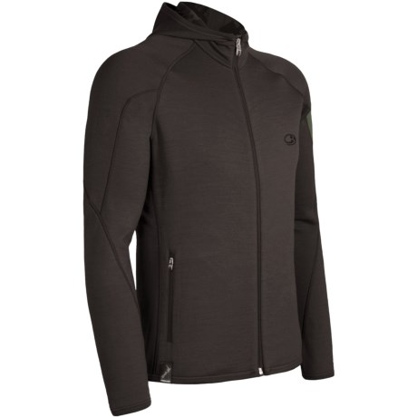 Icebreaker Real Fleece Sierra Hooded Jacket - Merino Wool (For Men)