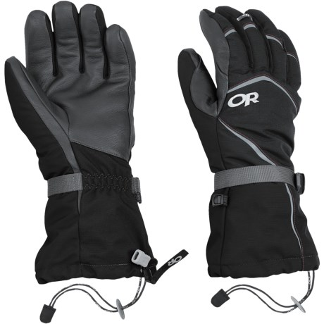 Outdoor Research Highcamp PrimaLoft® Gloves - Waterproof, Insulated (For Men)