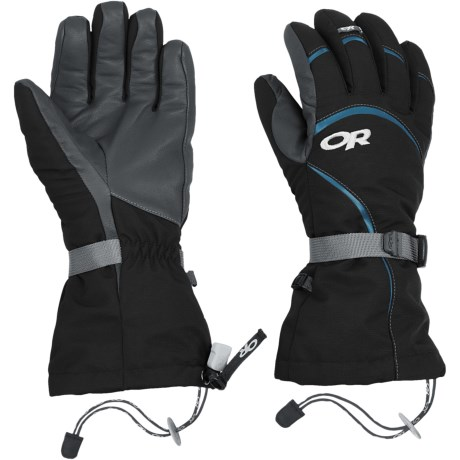 Outdoor Research Highcamp PrimaLoft® Gloves - Waterproof, Insulated (For Women)