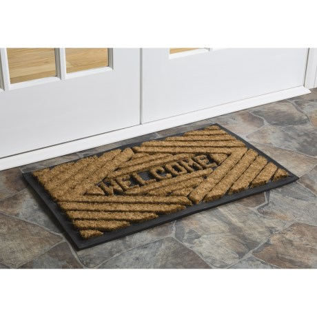 Imports Unlimited Diamonds Welcome Entry Mat - Coir