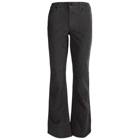 Pinwale Corduroy Pants - 5-Pocket, Bootcut (For Women)