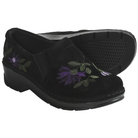 Klogs Naples Clogs - Suede, Closed Back (For Women)