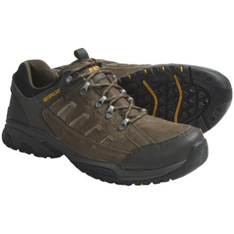 Caterpillar Torsion Shoes - Waterproof, Suede (For Men)