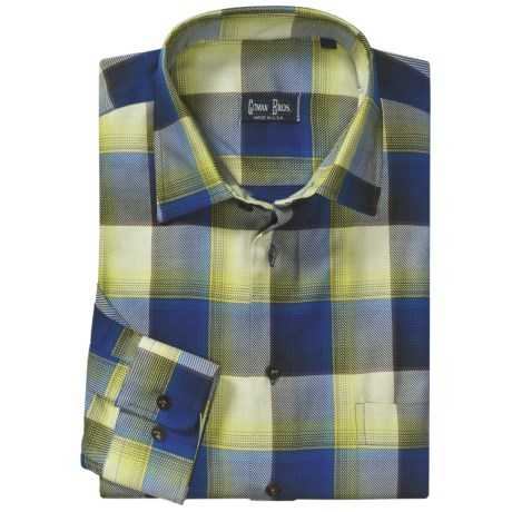 Gitman Brothers Fall Sport Shirt - Modified Spread Collar, Long Sleeve (For Men)