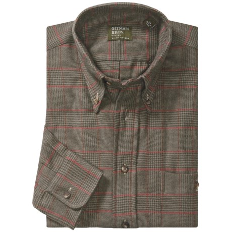 Gitman Brothers Flannel Sport Shirt - Long Sleeve (For Men)