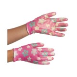 Auclair Nitrile Garden Gloves - Printed (For Women)