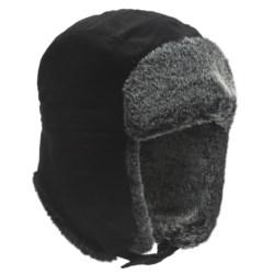Auclair Corduroy Cargo Aviator Hat (For Men and Women)