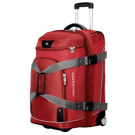 "High Sierra AT3 Sierra-Lite Drop-Bottom Duffel Bag - 26"", Wheeled"
