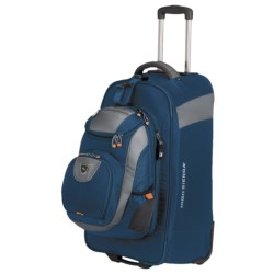 "High Sierra ATQ Wheeled Backpack - 27"", Removable Daypack"