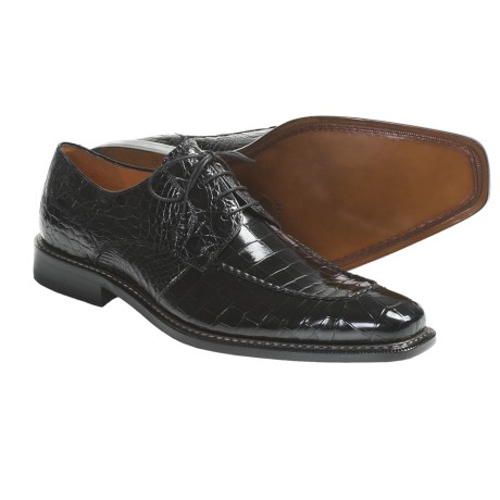 Mezlan Othello Oxford Shoes - Alligator Leather (For Men)