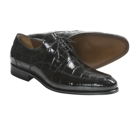 Mezlan Britannia Oxford Shoes - Alligator Leather (For Men)
