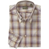 Gitman Brothers Plaid Sport Shirt - Long Sleeve (For Men)