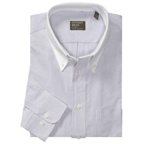 Gitman Brothers Cotton Sport Shirt - Long Sleeve (For Men)