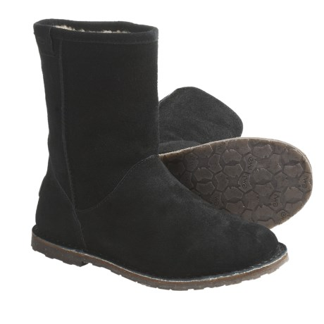 Emu Inverlock Boots - Sheepskin-Lined, Suede (For Women)