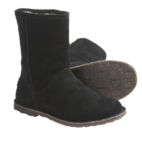 Emu Inverlock Boots - Sheepskin-Lined, Suede (For Women)