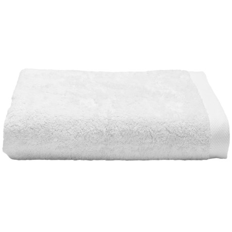 Chortex Self Ridges Bath Sheet - Zero-Twist Cotton, 600gsm