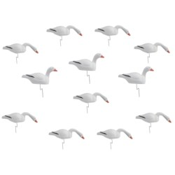 Flambeau Snow Goose Shell Decoys - Dozen, 1-Piece