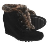 Earthies Seriph Ankle Boots - Suede (For Women)