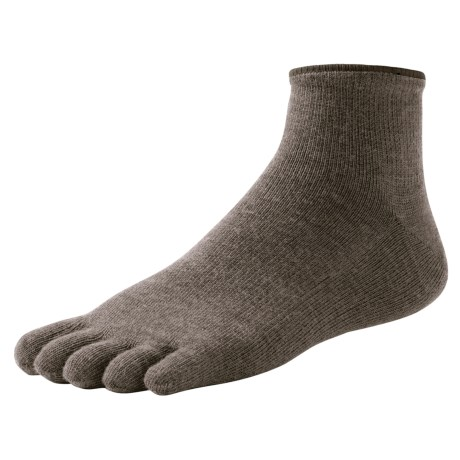 SmartWool Mini Toe Socks - Merino Wool, Quarter Crew (For Men and Women)