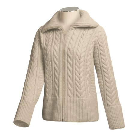 J.G. Glover & CO. Peregrine by J.G. Glover Cardigan Sweater - Peruvian Merino Wool (For Women)