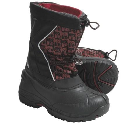 Kodiak Lucas Lined Snow Boots - Waterproof (For Boys)