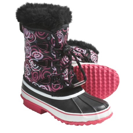 Kodiak Audrey Lined Snow Boots - Waterproof (For Girls)
