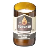 Torched Blackforest Lager Beer Bottle Candle - 11 oz.
