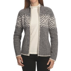 Nomadic Traders Winter Solstice Isla Cardigan Sweater - Donegal (For Women)