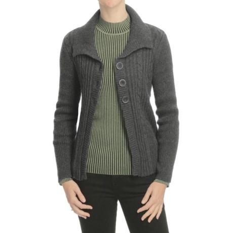 Nomadic Traders Winter Solstice Montreal Cardigan Sweater (For Women)